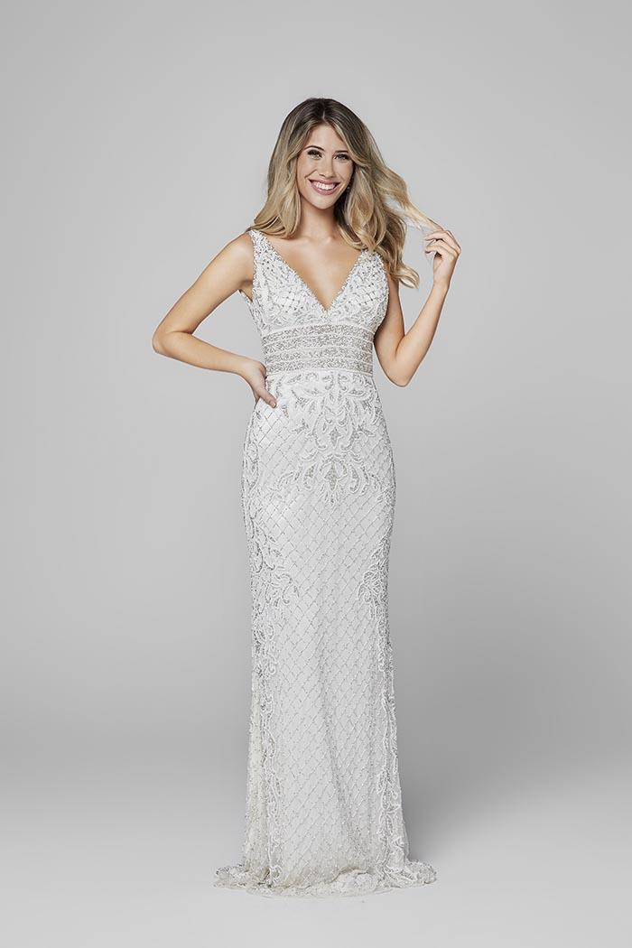 Primavera-3425-IVORY-Prom Dress