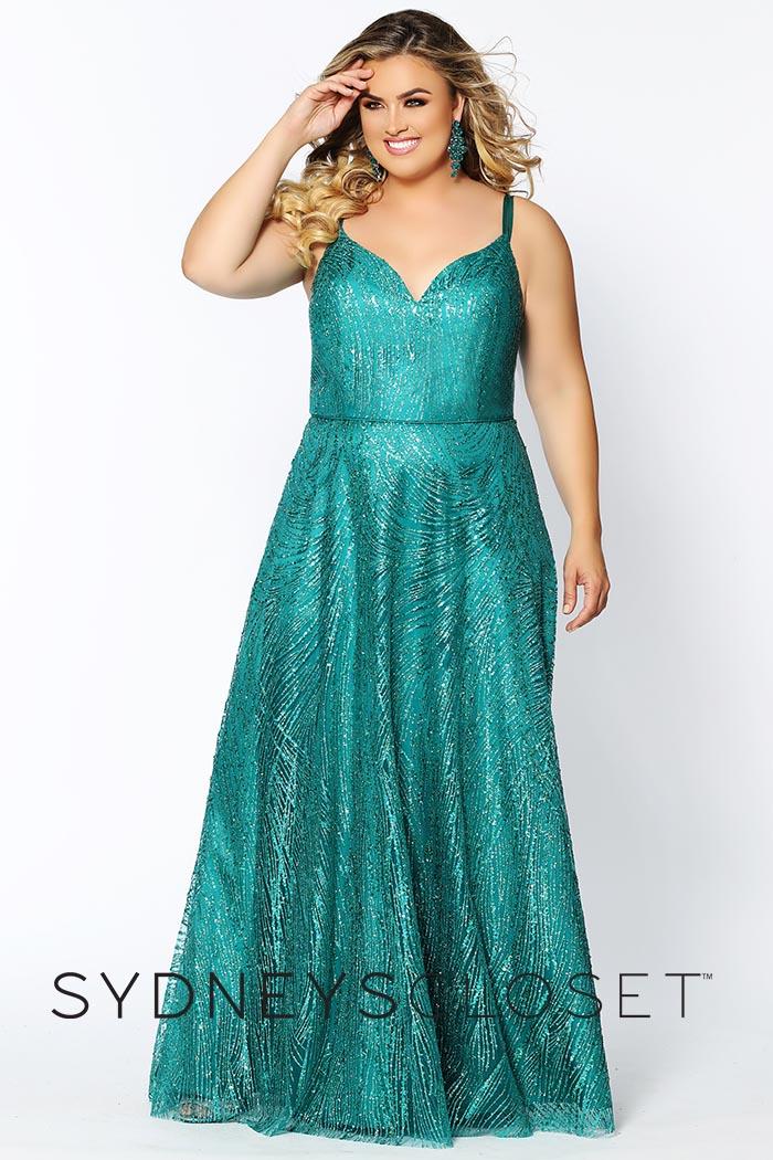 Sydneys Closet-Emerald-Dress